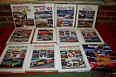 $124.95 • Buy 1992-2002 Nascar Winston Cup Hard Cover Books Nm