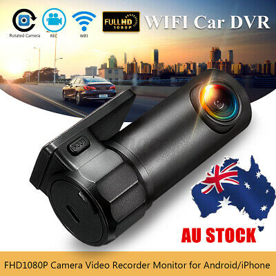 AU32.66 • Buy Car Hidden Camera Dash DVR Cam 170° HD 1080P Wifi Video Recorder Night AU