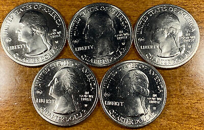 $ CDN60.45 • Buy 2020-W 25c Salt River Bay NP Quarter Privy Mark - Lot Of 5 Quarters A7