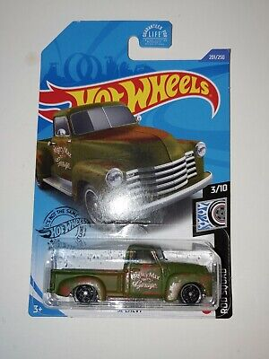 AU3.17 • Buy 2020 Hot Wheels #Green 52 Chevy Pickup Truck Rod Squad #201