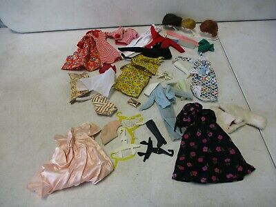 $ CDN60.65 • Buy 1960's Barbie Clothing, Accessories And Wigs Lot