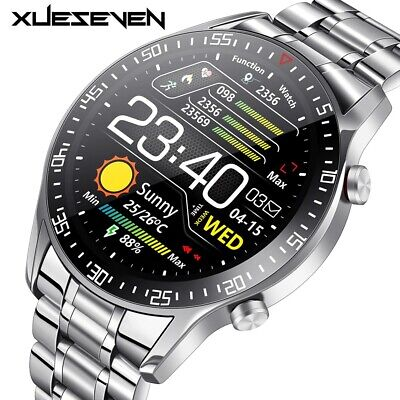AU100.11 • Buy Full Circle Touch Screen Smart Watches IP68 Waterproof Sports Fitness Men