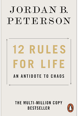 AU18.99 • Buy 12 Rules For Life: An Antidote To Chaos Jordan Peterson Paperback