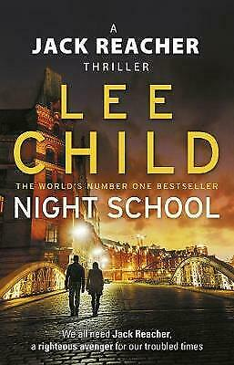 Night School: (Jack Reacher 21) By Child, Lee, Paperback Used Book, Good, FREE & • 2.89£