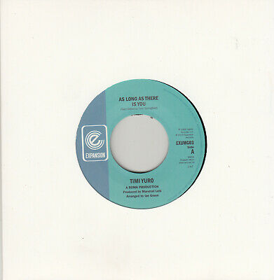 Timi Yuro As Long As There Is You/ It'll Never Be Over For Me  7  Mint Reissue • 9.99£