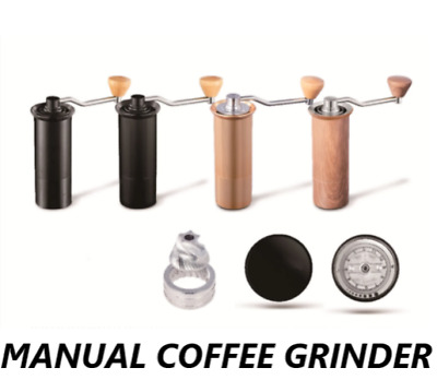 $84.95 • Buy 50MM Manual Coffee Grinder Stainless Steel Burr Conical Miller Milling Machine