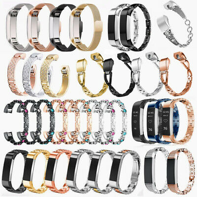 AU14.69 • Buy For Fitbit Alta / Alta HR Magnetic Watch Band  Milanese Stainless Steel Strap