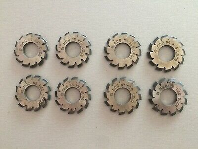 £51.31 • Buy Involute Gear Cutter M0.8 Pa20° Set 8 Pieces (№1 - №8)