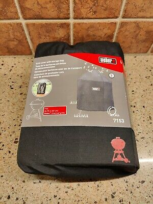 $ CDN42.31 • Buy WEBER 7153 Grill Cover With Storage Bag For 26.75 Inch Charcoal Grills