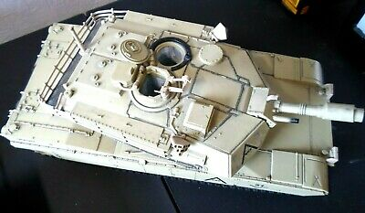 $50.84 • Buy 2007 Unimax QTA007 Forces Of Valor M1A1 Abrams US Army 1/18 Military Tank 17