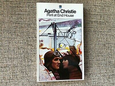 £5 • Buy PERIL AT END HOUSE   Agatha Christie Paperback  Tom Aams Cover