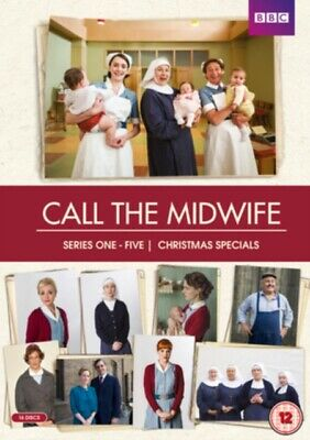 £33.56 • Buy NEW Call The Midwife Series 1 To 5 Boxset DVD