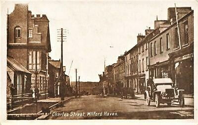 £4 • Buy Early MILFORD HAVEN  Charles Street Pembrokeshire  Postcard