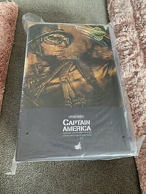 $ CDN943.52 • Buy Hot Toys MMS180 Captain America Rescue Uniform Version SDCC Exclusive 1/6th New