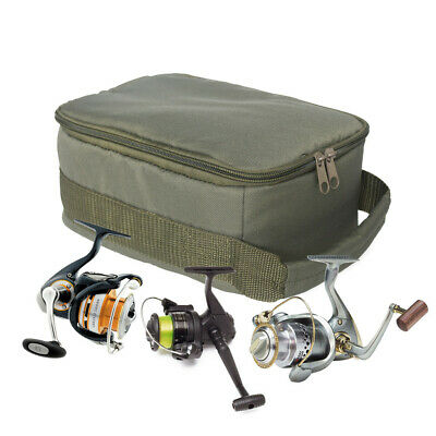 AU27.28 • Buy Fishing Bag Tackle Storage Box Shoulder Pack Carry Handbag Pouch Case Gear Case.