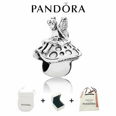 AU28.47 • Buy Forest Fairy Authentic Pandora Sterling Silver Charm 791734 ALE/BAG+BOX