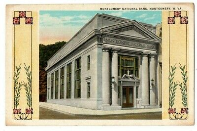 $ CDN9.07 • Buy WV West Virginia Montgomery National Bank Fayette County Postcard