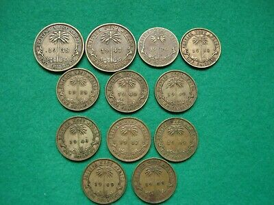 £19.99 • Buy British West Africa One & Two Shillings 1920 - 1949 3 Different Mint Marks