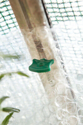 £3.55 • Buy Alliplugs Greenhouse Insulation Clips Original Plastic Pack Of 50 Green Clips