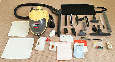 £51 • Buy A USED COMPLETE POLTI VAPORETTO LECOASPIRA 700 STEAM CLEANER C/w PARTS BAG