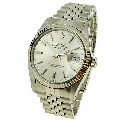 $ CDN6924.97 • Buy Rolex Datejust Oyster Perpetual Steel & White Gold Automatic Wristwatch 16014