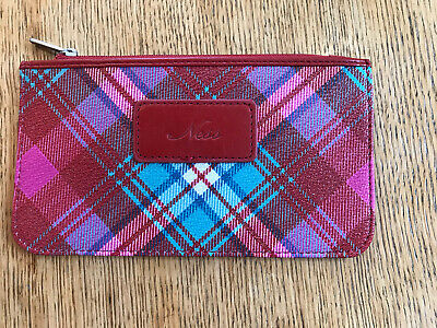 £1.50 • Buy Ness Tartan Pouch Make Up Bag Purse With Zip