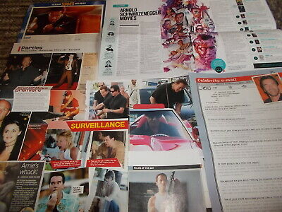 £5.99 • Buy Arnold Schwarzenegger  Celebrity  Clippings Pack 100+  Good Condition