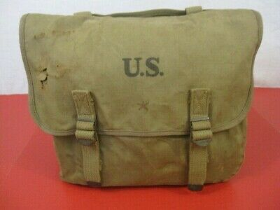 $59.99 • Buy WWII US Army/USMC M1936 Canvas Musette Bag Or Pack Khaki Color Dtd 1941- Nice #2