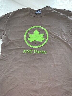 $ CDN30.23 • Buy NYC Parks - Vintage T-shirt - Officially Licensed City Of New York XL 2012