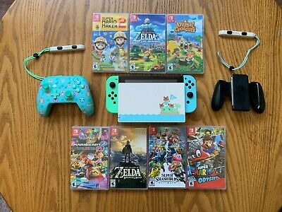 $ CDN725 • Buy Nintendo Switch New Horizons Edition Console With 7 First Party Games