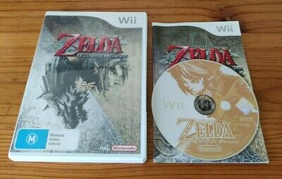 AU23.99 • Buy The Legend Of Zelda Twilight Princess AUS PAL Wii Game *COMPLETE, DISC CLEANED*