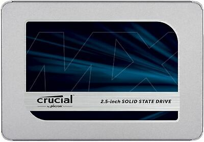 Crucial MX500 1TB 3D NAND SATA 2.5 Inch Internal SSD, Up To 560MB/s - CT1000MX50 • 49.49£