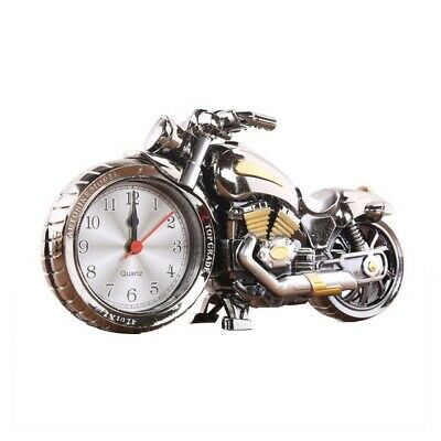 Alarm Clock Motorcycle Autobike Model Top Grade Desk Alarm Clock Cool Design • 0.99£