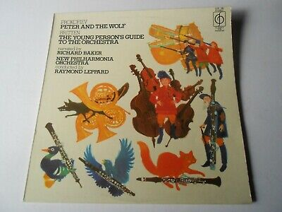 £1.99 • Buy Prokofiev Peter And The Wolf + Young Person's Guide To Orchestra Vinyl LP Album