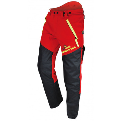 £51.99 • Buy Chainsaw Trousers Class 1 Type A Cervin Size 42 Red