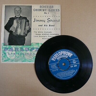 £5 • Buy 45rpm 7  Single JIMMY SHAND Scottish Country Dances 1