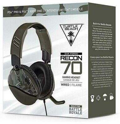 AU54.87 • Buy Turtle Beach Headset Ear Force Recon 70 For PS5 | PS4 | Xbox One | S Gaming