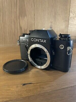 $ CDN282.59 • Buy Exc+5 Contax RTS II Quartz SLR 35mm Film Camera Body From Japan #N12-55