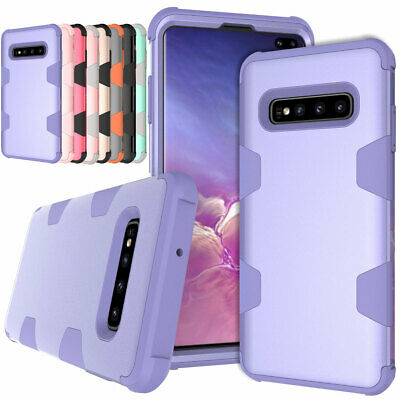 AU12.41 • Buy For Samsung Galaxy S8 S9 S10 Plus Note 8 Shockproof Heavy Duty Rubber Case Cover