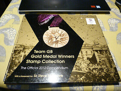 £12.99 • Buy London 2012 Olympics Team GB Gold Medal Winners Stamp Collection Compendium Book