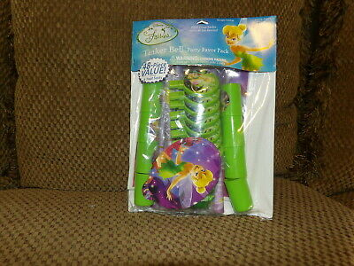£4.37 • Buy TINKERBELL Birthday Party Favors Treats Loot Bags Fillers (48 Piece) Hallmark *