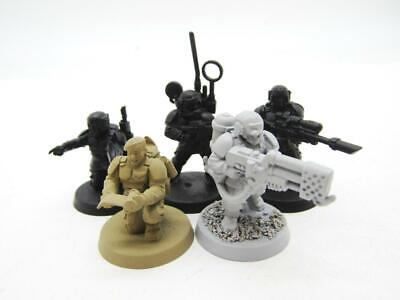 £6 • Buy (8517) Cadian Command Squad Imperial Guard Astra Militarum 40k 30k Warhammer
