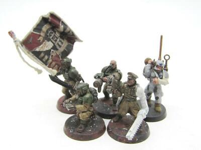 £4.20 • Buy (8539) Cadian Command Squad Imperial Guard Astra Militarum 40k 30k Warhammer