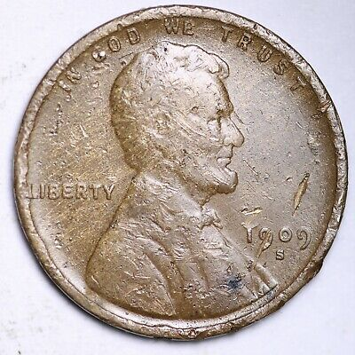 $ CDN1.20 • Buy 1909-S Lincoln Wheat Cent Penny FREE SHIPPING