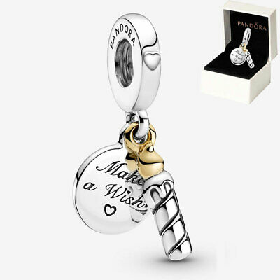 £12.99 • Buy Genuine Pandora Happy Birthday Candle Dangle Charm ALE S925 Silver With Gift Box