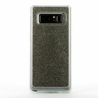 $ CDN9.69 • Buy For Samsung Galaxy Note 8 Snap Cover Clear Case - Transparent Stardust Glitter