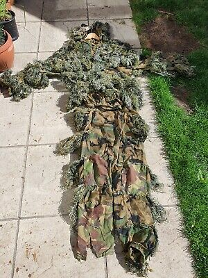 £20 • Buy British Army Vest Ghillie Suit Sniper Camouflage Hunting Army Airsoft  Paintball
