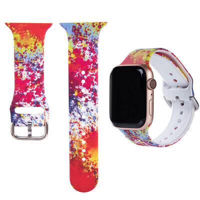 $ CDN7.22 • Buy For Apple Watch IWatch Series 5-1 Watch Band 38-44 Breathable Replacement Strap