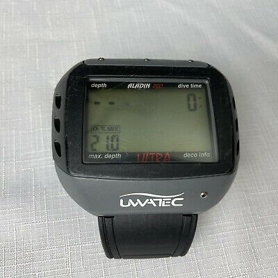 $ CDN169.83 • Buy Uwatec Aladin Pro Ultra Air/ Nitrox Watch Dive Computer 4 Scuba (New Battery)