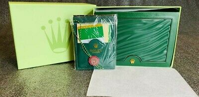 $ CDN78.84 • Buy  Rolex Luxury Watch Box, Outer Case, Sleeve And Duster. Suisse. PERFECT